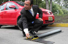 Smart Decano Speed Bump Responds to Vehicle Speed
