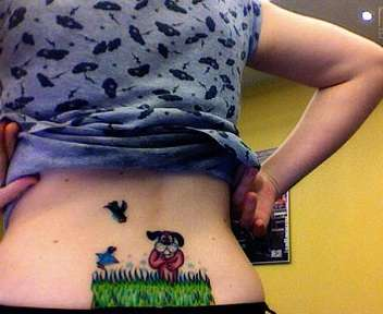 Duck Hunt Tramp Stamps
