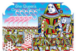 Psychedelic Alice in Wonderland Calendar Blows Your Mind