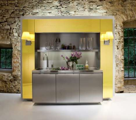 Personality Debut Kitchens - The Philippe Starck Warendorf Kitchens Rings in a Rebranding