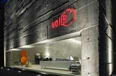 Concrete Cube Shops - Contemporary Furniture Store Volume B in Sao Paulo, Brazil