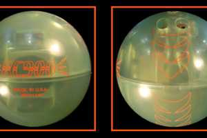Global 900's Remote Control Bowling Ball