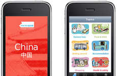 Foreign Flashcard Communications - The 'Me No Speak' iPhone Application Breaks Language Barriers
