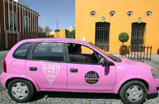Pink Cabs for Safety - The Mexico Pink Taxis Aim to Decrease Sexual Harassment