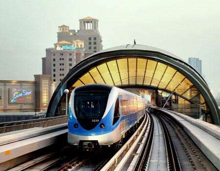 $7.64 Billion Transit Systems - The Dubai Luxury Metro System Redefines City Travel