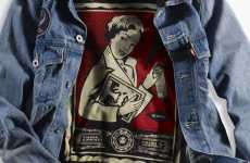 Street Cred Denim - The Obey and Levi's Clothing Merger Will Make You Empty Your Wallet