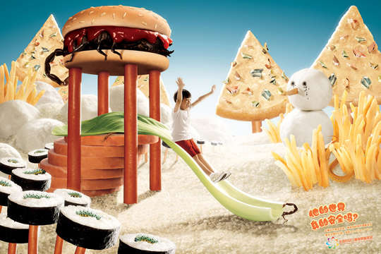 Frightening Food Safety Ads