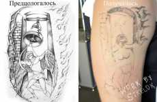 Epic Ink Fail Comparisons - Bad Tattoo Pictures are Funny for Us