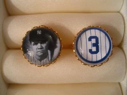 Legendary Links - Show Your Allegiance to the Pinstripes With These Yankees Cufflinks
