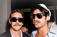 Heinous Mustache Contests - Movember Canadian Club Whisky Contest Pays Money for Ugly