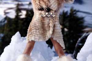 Constance Jablonski in Vogue Russia is Ready for the Snow