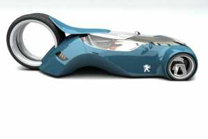 Matus Prochaczka Designs Car With Large Hamster Wheel Tire