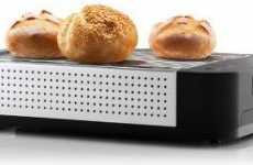 Easy Toast Ovens - The Slotless Toaster Allows You to Toast Just About Anything