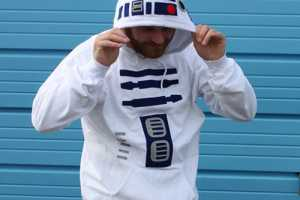 R2-D2 Hoodie is an Easy Way to Dress Up for Halloween