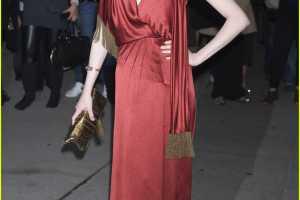 Evan Rachel Wood Sizzles in Scarlet at FGI's Night of Stars Gala