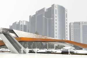 The Cross-Wind Bridge Creates Power from Auto Speeds Below