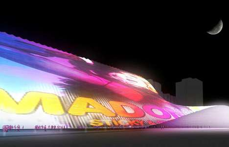 Massive Media Facades - The Taipei Pop Music Center Will Feature Eco LED Technology