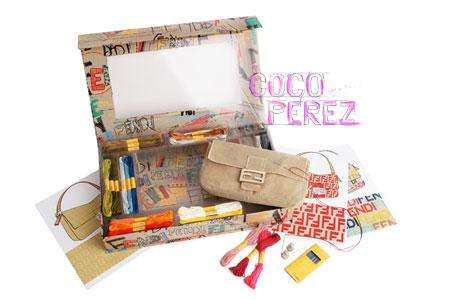 Luxury DIY Bags - Fendi Do-It-Yourself Baguette Mezzo Punto Makes You a Designer