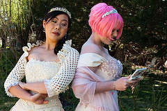 Lesbian Gamer Weddings - The Anli and Laura Offbeat Union Combines the Best of All Worlds