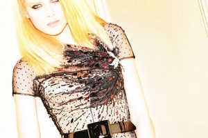 Elena Melnik Models 'Sexy Couture' in Flair Magazine