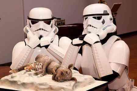 Star Wars Nuptual Cakes
