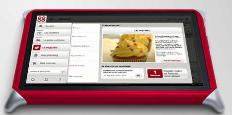 Cooking Coach Tablets - The QOOQ Touchscreen Device is a Must-Have for the Kitchen