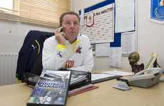 Harry Redknapp Mentors Players of Football Manager 2010 Video Game