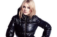 Chic Winter Bundling - The New Fall In-Store Ads Starring Jessica Stam for H&M