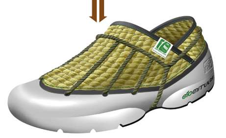 Eco Straw Sneakers