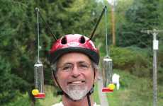 Wearable Bird Feeders