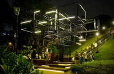 Forest-Inspired Installations - The Tree by FARM Creates Real Time Responses to Sound