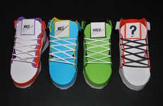 Pseudo Paper Sneakers