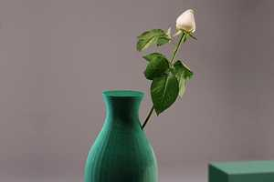 The Floral Foam Vase by Shay Shafranek Has a Delightful Design