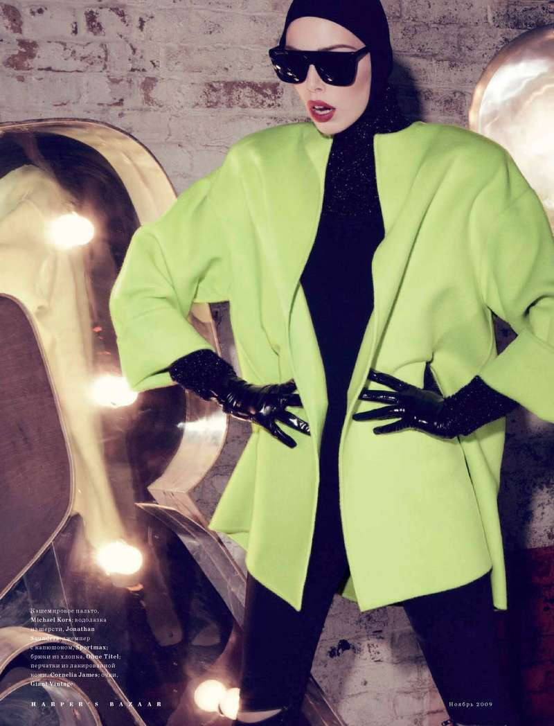 Electric Outerwear Editorials
