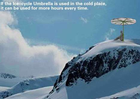 Melting Umbrellas