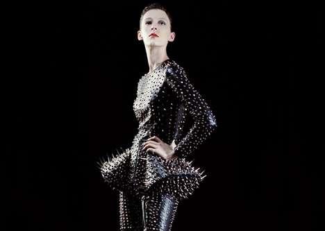Goth Rocker Couture - Nadia of FOXYMAN Collection Kicks Rockstar Chic Up a Notch