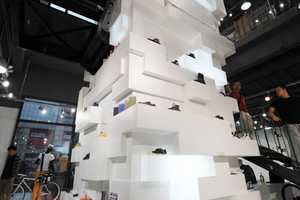 The Stacked Source Flagship Store from HUGE Architecture