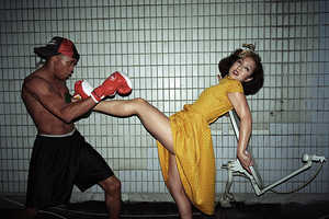 'Shanghai Fight Club' by Szymon Roginski for PHOTO-SHOP Makes Anger Hot