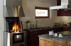 Fusing Kitchens & Fireplaces - Ruegg's CookCook Stove Puts the Kitchen Center Stage Again