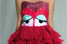 Devani Weaver's Halloween Yarn Monster Dress is Muppet-Approved