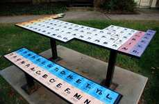 Elemental Lunch Spots - Periodic Picnic Table is the Best Place to Do Your Chemistry Homework
