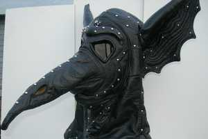 Leatherhead Originals 'Gothic Bat Wing Leather Plague' is Extreme