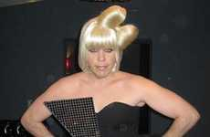 Celebrity Impostor Costumes - Perez Hilton's Halloween Costume Shows Lady Gaga Love