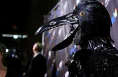 The Heidi Klum Raven Costume Dominates the Red Carpet