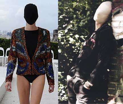 25 Freaky Faceless Models