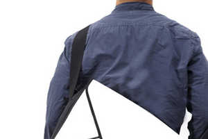 Envelope Messenger Bag is the Perfect Mailman Accessory