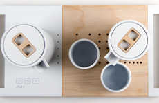 The Chat Chinese Tea Set Combines the Contemporary and Conventional