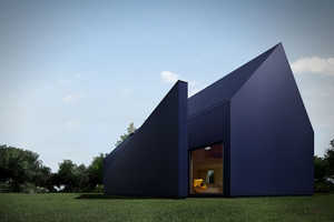 The 'I House' in Poland is an Architectural Fantasy