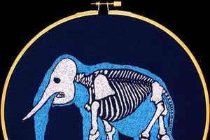 Aubrey Longley-Cook Creates Incredible Needlepoint Artwork