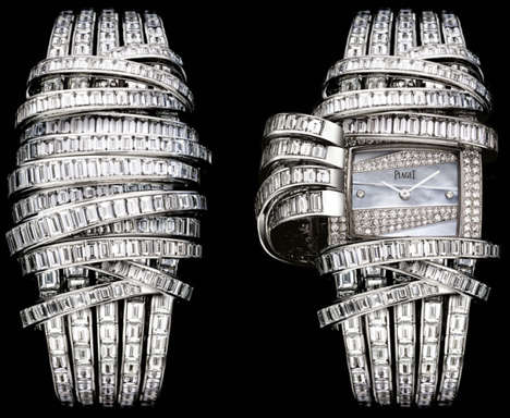 Diamond-Wrapped Watches